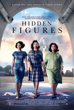 Hidden Figures - Theatrical release poster
