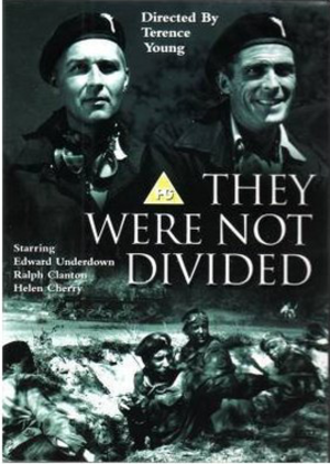 They Were Not Divided - UK DVD cover
