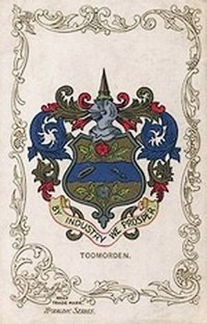 Todmorden - Coat of Arms of the former Todmorden Borough Council.