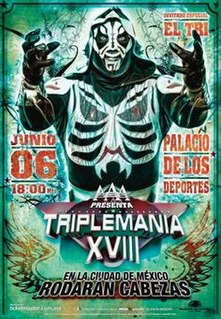 Triplemanía XVIII 2010 Lucha Libre AAA World Wide event