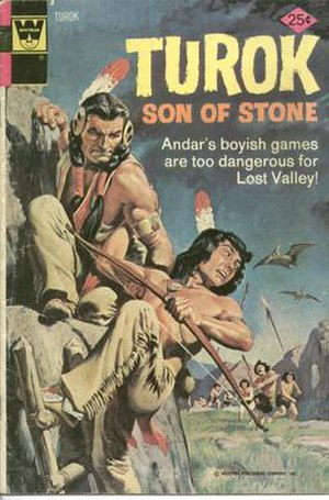 Turok - Image: Turok son of stone comic