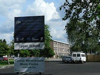 Kenilworth School and Sixth Form - Upper School.