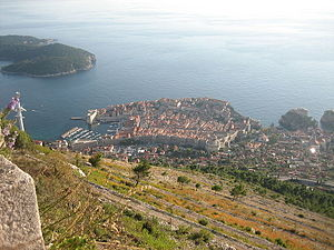 Walls of Dubrovnik - The present shape of the walls was defined in the 14th century.