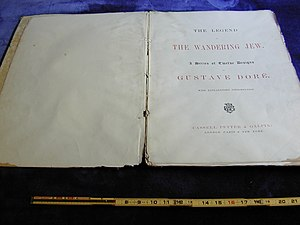 Wandering Jew - Image: Wandering jew title page