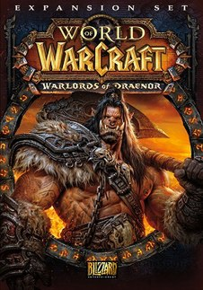 <i>World of Warcraft: Warlords of Draenor</i> expansion set for the MMORPG World of Warcraft