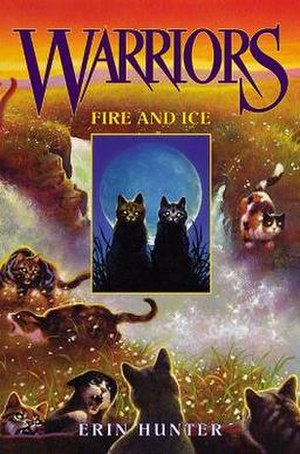 Fire and Ice (Hunter novel) - First edition cover
