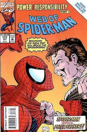 Clone Saga - Image: Web of Spider Man 117