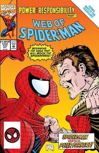 Clone Saga - Image: Web of Spider Man 117