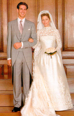 Wedding dress marie chantal of greece