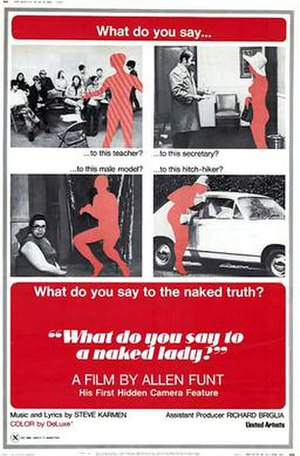 What Do You Say to a Naked Lady? - Theatrical poster