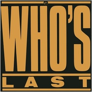 Who's Last - Image: Who's Last (alternate cover)