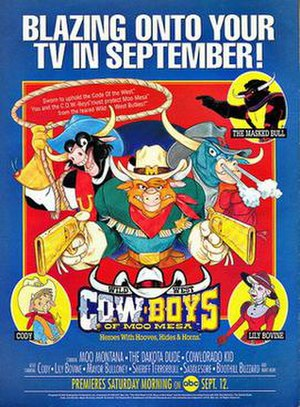 Wild West C.O.W.-Boys of Moo Mesa - Promotional poster