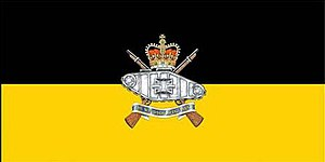 The Windsor Regiment (RCAC) -  The camp flag of The Windsor Regiment (RCAC).