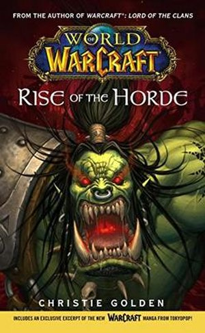 World of Warcraft: Rise of the Horde - First edition cover