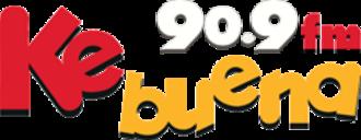 XHMQM-FM - Image: XHMQM Ke Buena 90.9 logo