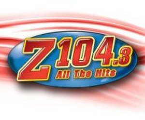 WZFT - Z104.3 logo from November 4, 2009 to July 1, 2014