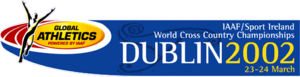 2002 IAAF World Cross Country Championships - Image: 2002 IAAF World Cross Country Championships Logo