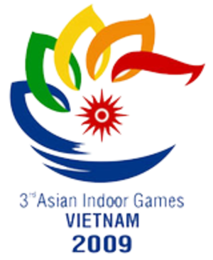 2009 Asian Indoor Games - Image: 2009 Asian Indoor Games logo