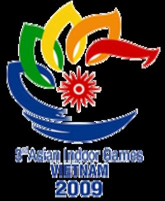 2009 Asian Indoor Games - Image: 2009 Asian Indoor Games logo