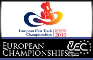 2010 UEC European Track Championships - Image: 2010 European Track Championships logo