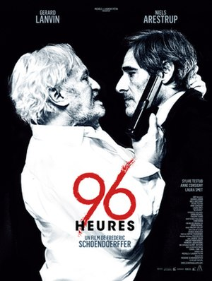 96 hours - Film poster