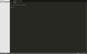 Sublime Text - PHP Hello World on Sublime Text 3