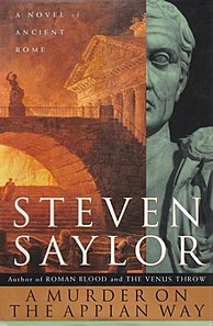 <i>A Murder on the Appian Way</i> book by Steven Saylor
