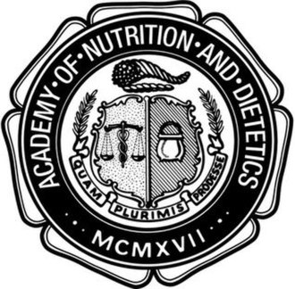 Academy of Nutrition and Dietetics - Current Seal of the Academy of Nutrition and Dietetics