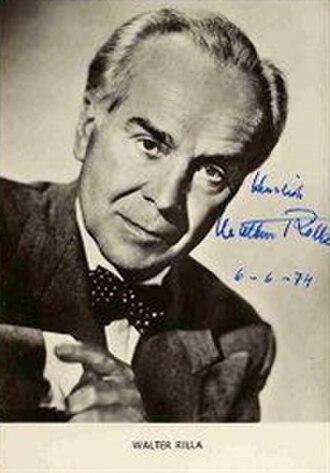 Walter Rilla - Image: Actor Walter Rilla