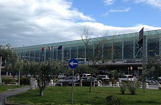 international airport serving Catania, Sicily, Italy