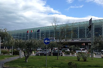 Catania International Airport Aeroporto di Catania - Catania Airport.JPG