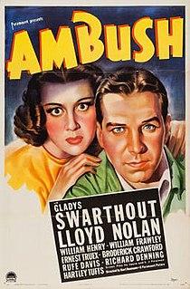<i>Ambush</i> (1939 film) 1939 film by Kurt Neumann