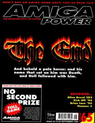 Amiga Power - Image: Amigapowercover