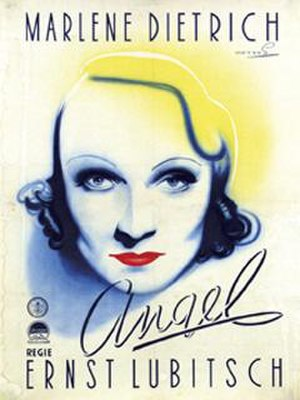 Angel (1937 film) - Theatrical release poster