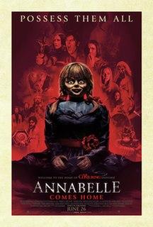 <i>Annabelle Comes Home</i> 2019 American supernatural horror film