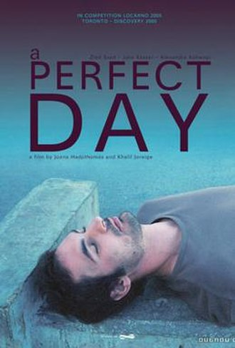 A Perfect Day (2005 film) - Film poster