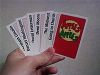 image about Apples to Apples Cards Printable titled Apples in the direction of Apples - Wikipedia