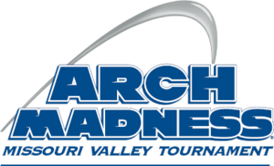 Missouri Valley Conference Men's Basketball Tournament - Image: Arch Madness logo