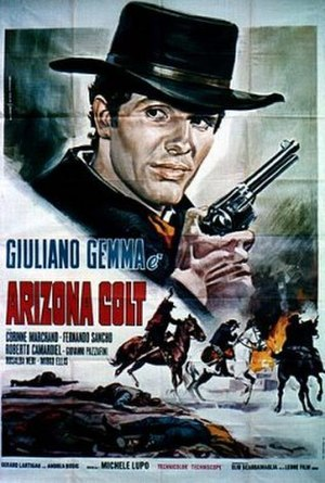Arizona Colt - Italian theatrical release poster