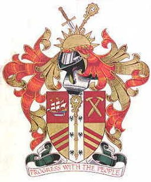 Newham London Borough Council - Image: Arms newham lb