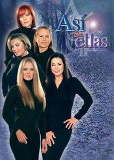 <i>Así son ellas</i> telenovela