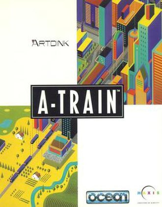 A-Train - American cover art of Take the A-Train III, localized as A-Train