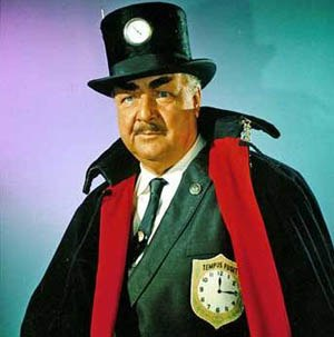 Walter Slezak - Walter Slezak as the Clock King in the 1960s Batman TV show