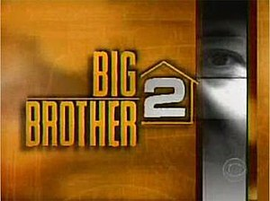 Big Brother 2 (U.S.) - Image: BBUS2Logo