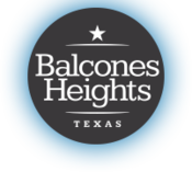 Official logo of Balcones Heights, Texas