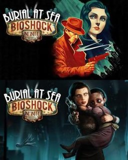 "<i>BioShock Infinite: Burial at Sea</i> Episodic expansion to the first-person shooter video game ""BioShock Infinite"""