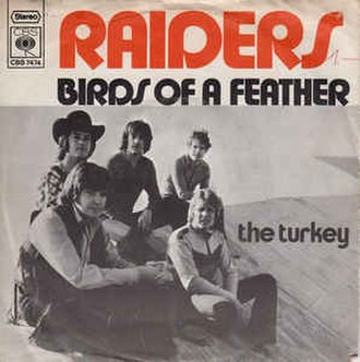 Birds of a Feather (Joe South song) - Image: Birds of a Feather The Raiders