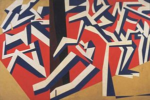 Vorticism - David Bomberg, The Mud Bath, 1914, Tate