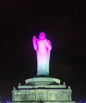Lumbini Park - Buddha Statue of Hyderabad in Lumbini Park