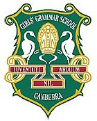Canberra Girls Grammar School crest. Source: www.cggs.act.edu.au (CGGS website)